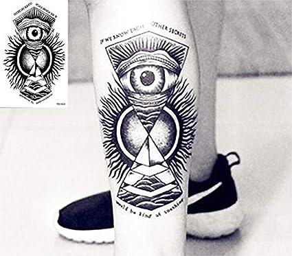 Impermeable Tatuaje Temporal De Los Hombres Fuego Águila Loto ...