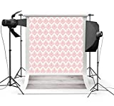 Lfeey 3x5ft Vinyl Photography Background Chic Wall Paper Wooden Floor Scene Backdrops Photo Studio Props