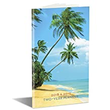 Island Paradise 2018 & 2019 Two-Year Planner: 29-month Planner August 2017 - December 2019