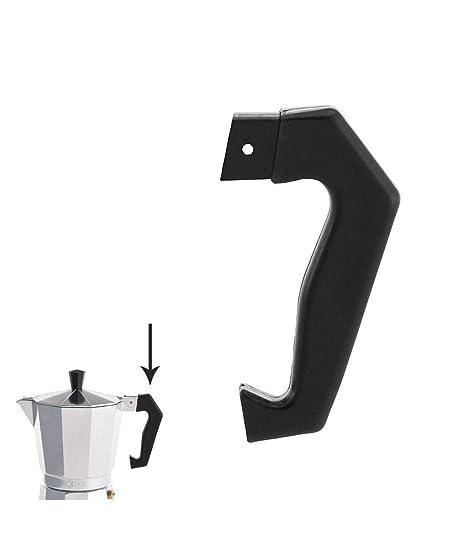 ORYX Classic Mango Cafetera 6 Tazas, Negro, 9x9x3 cm: Amazon.es: Hogar