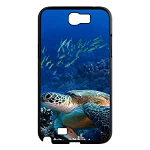 Sea Turtle Use Your Own Image Phone Case for Samsung Galaxy Note 2 N7100,customized case cover ygtg564516