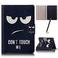 Capa Case Kindle (Paperwhite) Liga/Desliga Porta Cartões (Dont Touch Me)