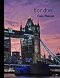 London Daily Planner: 2019 - 2020 Tower Bridge Thames Cover | January 19 - December 19 | Writing Notebook | Diary Journal | Datebook Calendar Schedule | Plan Days, Set Goals & Get Stuff Done