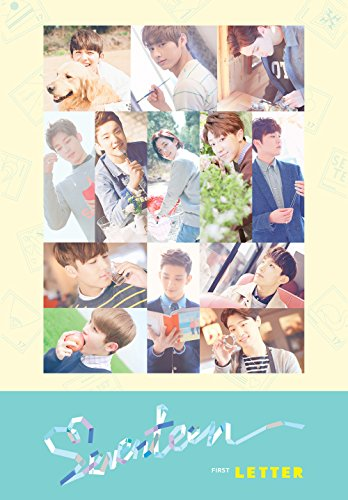 SEVENTEEN - 1st Album LOVE & LETTER [ Letter Ver.] CD + Photobook + Folded Poster + Sticker + Postcard + Extre...