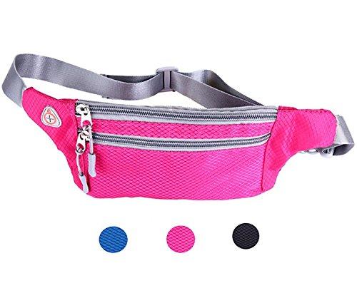 Waist bags women travel waist bag (Pink) - 3