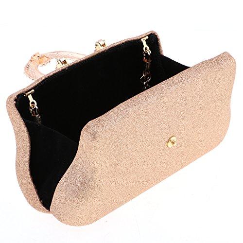 Fashion Women Clutch Messenger Shining Crossbody Gold Bags Handbag Baoblaze Purse Chain Shoulder Tote 56ZnxdqF