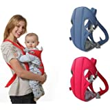 Baby Carrier 1 Pc Adjustable 4-In-1 With Comfortable Head Support & Buckle Straps