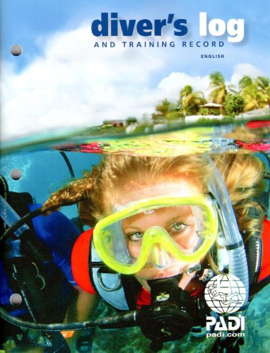 PADI Diver's Blue Log and Training Record (70047) Rev. 3.0 ()