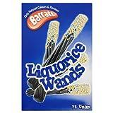 Bassett Liquorice Wands Retro Kids Sweets - 75's
