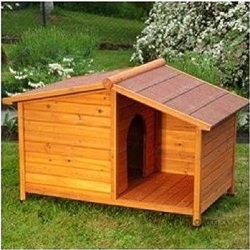 Casa Invierno de caseta de madera impermeable Refugio exterior \ mascota perro gato Animal Cama tienda