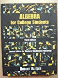 Algebra for College Students, Hall, James, 0536615713