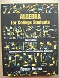 Algebra for College Students, Hall, James, 0536615713