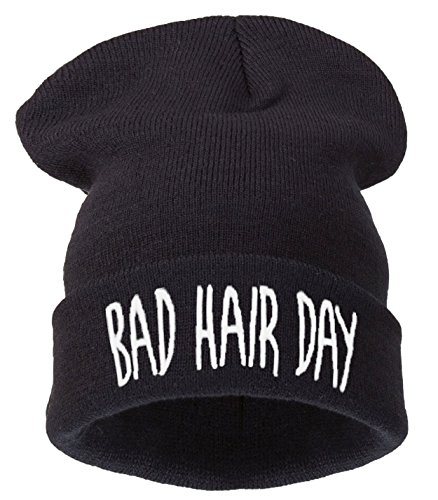 4sold Day Winter Women Hair tm Warm Black Black Bad Bhd Hat Men's Winter White 4vAw4