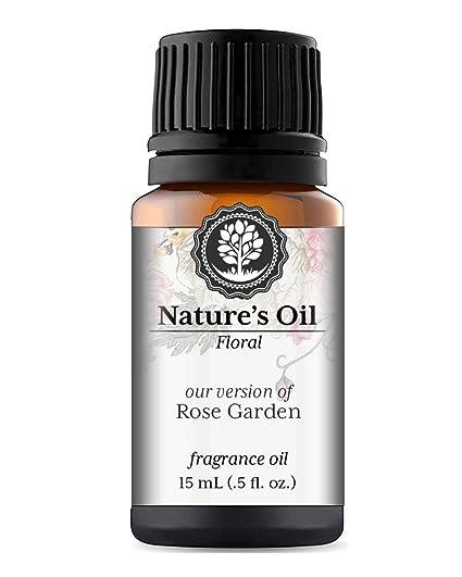 Amazon Com Rose Garden Fragrance Oil 15ml For Diffusers Soap