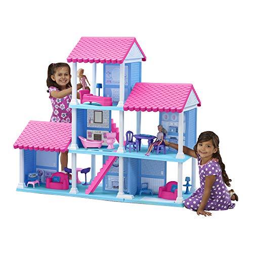 (American Plastic Toys Fashion Doll Delightful Dollhouse)