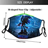 Kids Sonic The Hedgehog Reusable Windproof and
