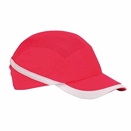 512b9358 Portwest Pw69 Vent Cool Bump Cap Black Men Work Accessories Head Protection  - Red, One