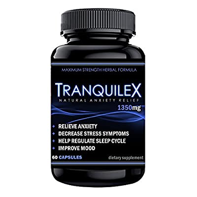 TranquileX Natural | Anxiety and Stress Relief Supplement to Boost Serotonin