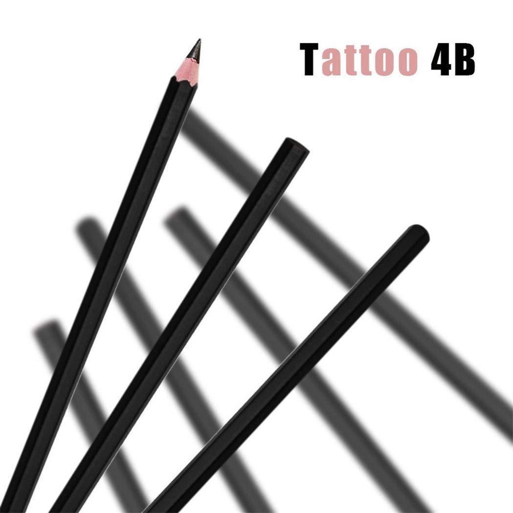 10 rotuladores permanentes impermeables + 12 plantillas de tatuaje ...