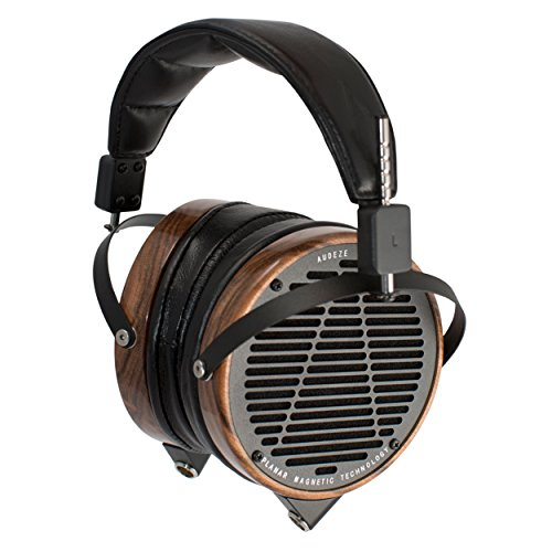 Audeze LCD2 Over Ear, Open Back | Rosewood wood ring headphone by Audeze
