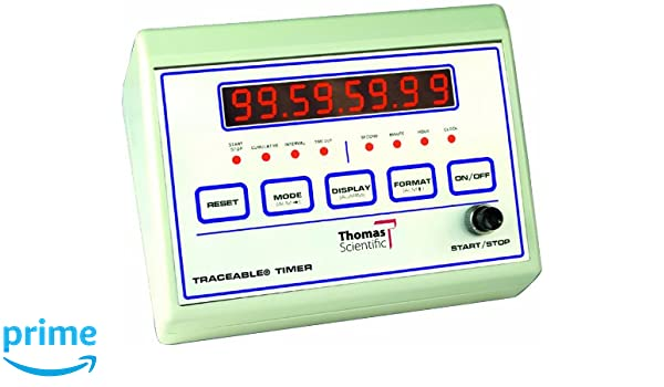 Amazon com: Thomas 1021 ABS Plastic Traceable Bench Timer