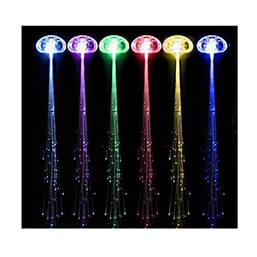 Bleu Multicolore Optique Zone Clignotantes Fibre 01 Cheveux Andux Lumières Ledbz YzwnwZ