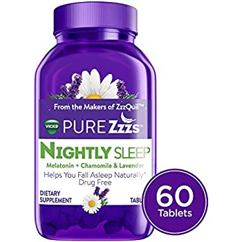 Amazon.com: Vicks ZzzQuil Pure Zzzs Melatonin Sleep Aid Gummies with ...