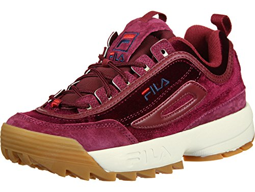 Fila Women Shoes/Sneakers Heritage Disruptor Bordeaux G0iNp5i