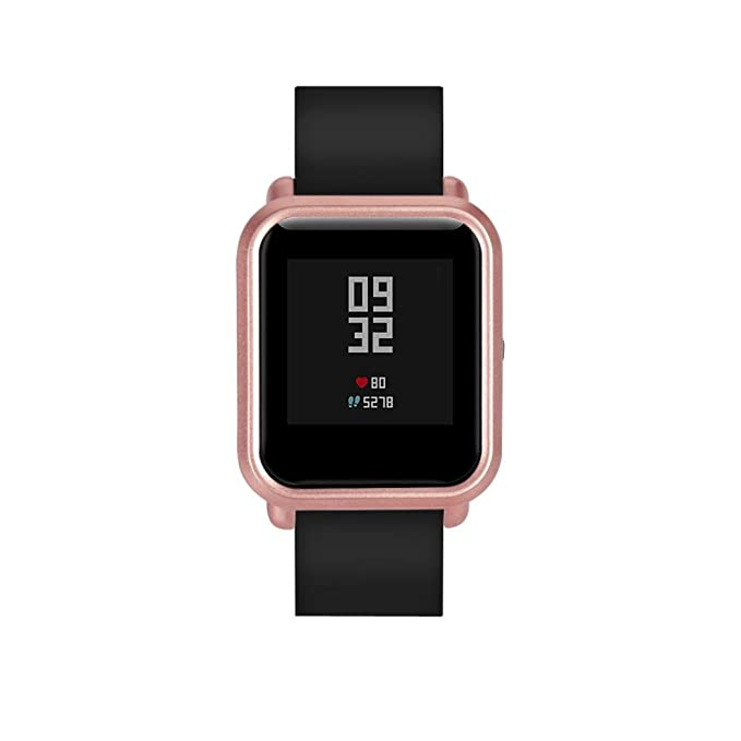 Amazon.com: Watch, Simple Gifts, IKevan Case Cover For Xiaomi Huami Amazfit Bip Younth Watch. (Rose Gold): Watches