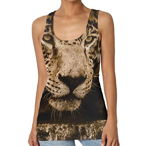 Jaguar Leopard Women Tank Top Custom Tee Camisole