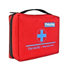 First Aid Kit 119 pcs - Professional Design for Car, Home, Camping, Travel , Outdoors or Sports, Small & Compact