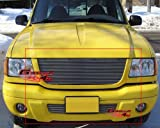 01-03 Ford Ranger XLT 4WD/Edge Billet Grille Grill Combo Insert # F87954A