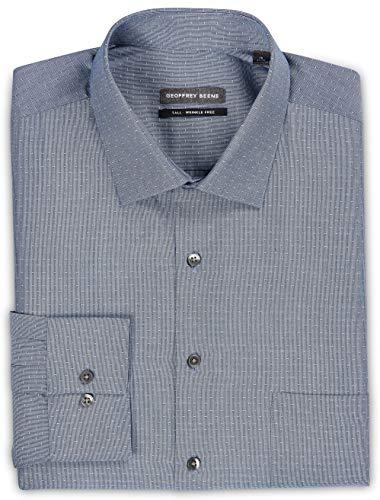 Beene Geoffrey Clothing Women (Geoffrey Beene Big and Tall Dobby Dress Shirt Blue)
