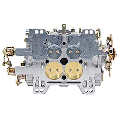 Edelbrock 1905 AVS2 Series Carburetor 650 cfm Square Flange Non-EGR Manual Choke Satin AVS2 Series Carburetor: Automotive