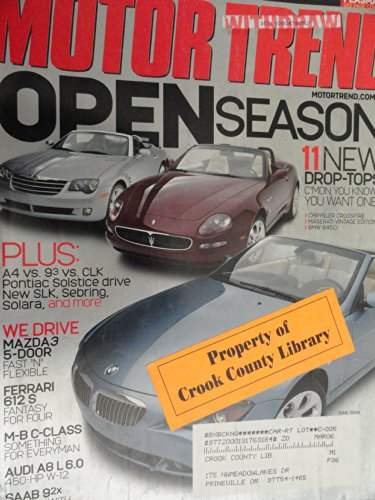 2006 Mercedes Clk Cabriolet - 2006 Pontiac Solstice / 2003 Audi A4 Cabriolet / 2004 Mercedes CLK 320 Cabriolet / 2004 Saab 9-3 Convertible / 2004 BMW X5 / 2004 Cadillac SRX / 2004 Infiniti FX45 / 2003 Porsche Cayenne Road Test