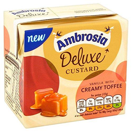 Ambrosia Deluxe Custard Vanilla & Creamy Toffee - 500g (1.1lbs)