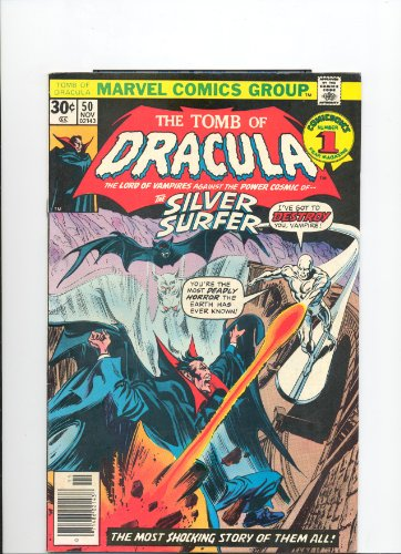 The Tomb Of Dracula (Vol. 1 No. 50, November 1976) (Where Soars The Silver Surfer!)
