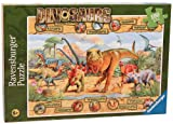 Ravensburger Dinosaurs - 100 Piece Jigsaw Puzzle for Kids – Every Piece is Unique, Pieces Fit Together Perfectly