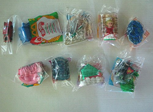 McDonald's Happy Meal Toys Complete Set of 8 - Vintage 1995
