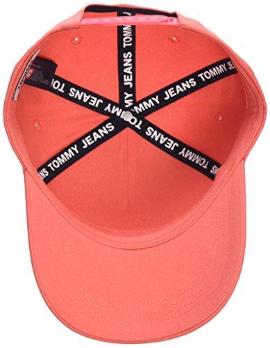 Rojo 634 Fabricante Unisex Adulto Béisbol Tju Gorra Tommy del única Spiced OS Talla Talla Flag W Coral Jeans Cap de AOOqwvf