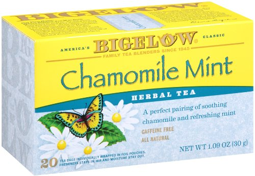 Bigelow Chamomile Herbal Tea 20 Count