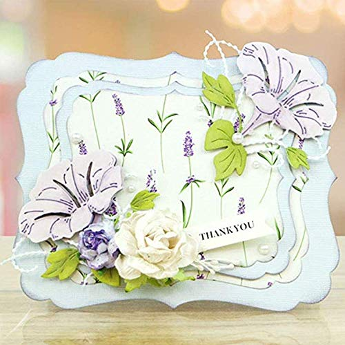 Zittop Morning Glory Cutting Dies Stencil Album Scrapbooking Cards DIY Embossing Tool by Zittop (Image #6)