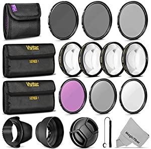 Filters, Filter Kits / UV CPL FLD + ND Set + Macro