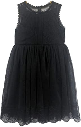 Bow Dream Flower Girl's Dress Lace