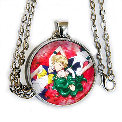 Neptune and Uranus - sailor moon - pendant