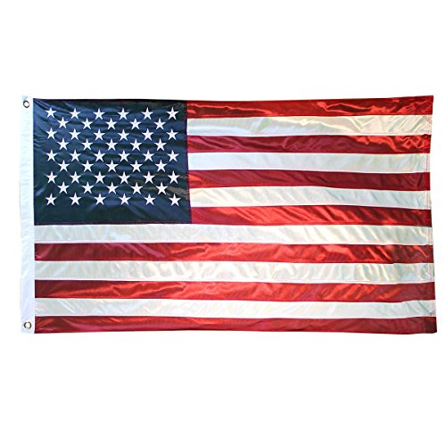 Cheap Super Tough 6ft x 10ft Polyester American Flag