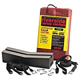 Seattle Sports Riverside 18'' Universal Kayak Carrier, Black