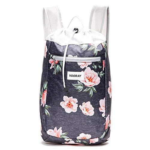 Vooray Stride 16L Cinch Drawstring Backpack, Rose ()