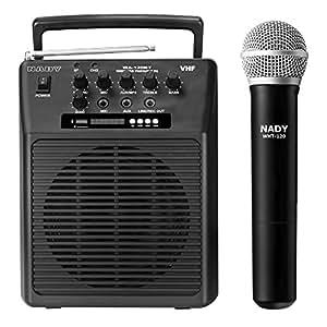 Amazon.com: Nady WA-120BT HT Wireless Portable compact P.A