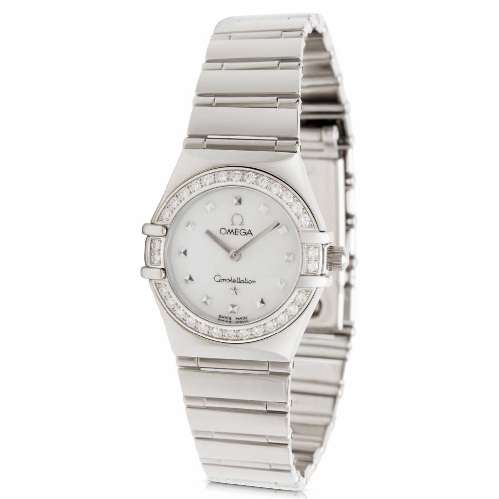 Omega Constellation quartz womens Watch 1465.71 (Certified Pre-owned)